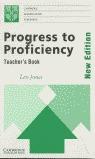 PROGRESS TO PROFICIENCY TEACHERS