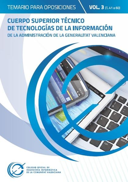 TEMARIO PARA OPOSICIONES AL CUERPO SUPERIOR TÉCNICO DE TECNOLOGÍAS DE LA INFORMA.