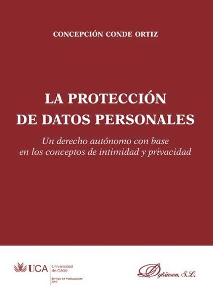 La protección de datos personales.