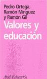 VALORES Y EDUCACION