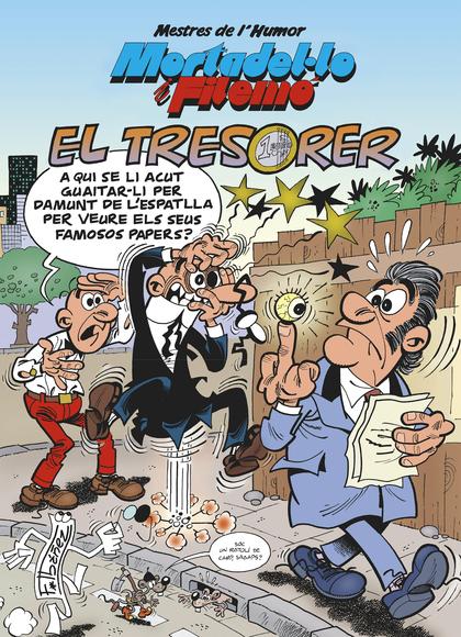 MORTADEL·LO I FILEMÓ. EL TRESORER (MESTRES DE L´HUMOR 39).