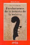 FUNDAMENTO DE LA HISTORIA DE LA MUSICA