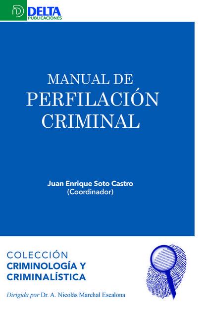 MANUAL  DE  PSICOLOGIA CRIMINAL.