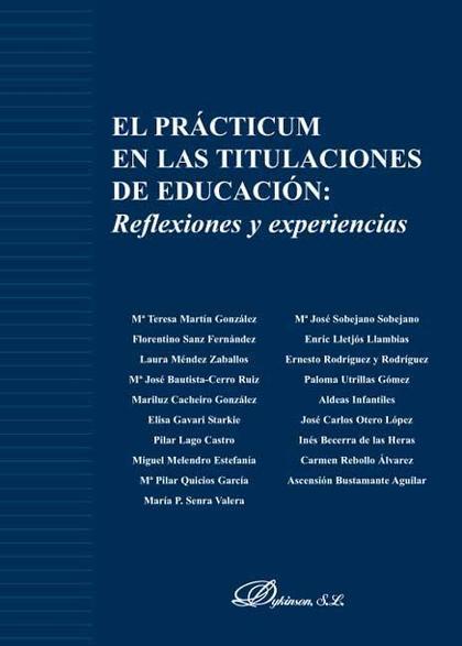 El practicum en las titulaciones de educación