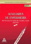 AUXILIARES DE ENFERMERÍA DEL SERVICIO DE SALUD DE CASTILLA Y LEÓN (SACYL).TEMARI