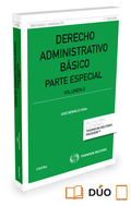 DERECHO ADMINISTRATIVO BASICO VOL II. PARTE ESPECIAL