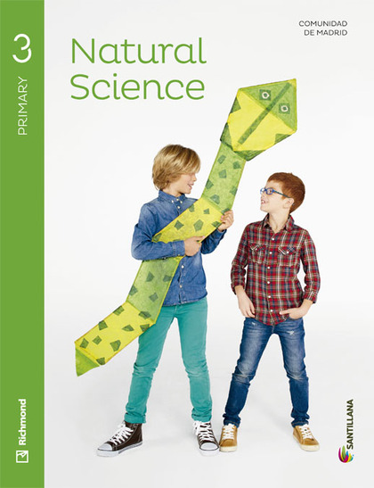 NATURAL SCIENCE 3 PRIMARY STUDENT´S BOOK MADRID.