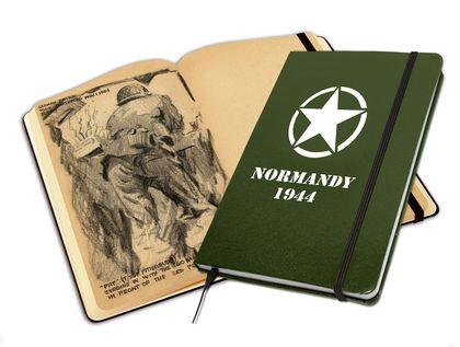 LIBRETA ILUSTRADA NORMANDY 1944.