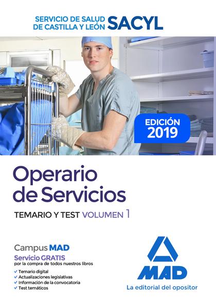 TEMARIO 1. OPERARIOS DE SERVICIOS SACYL