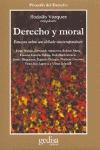 DERECHO Y MORAL ENSAYOS DEBATE CONTEMPORANEO