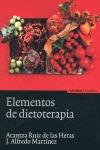 ELEMENTOS DE DIETOTERAPIA.