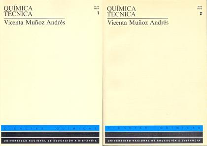 QUIMICA TECNICA TI Y II RF.09310UD11-09010UD11