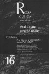ROSA CÚBICA 15-16, REVISTA DE POESÍA, INVIERNO 1995-96: LA ROSA DE NADIE