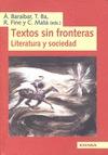 TEXTO SIN FRONTERAS : LITERATURA Y SOCIEDAD