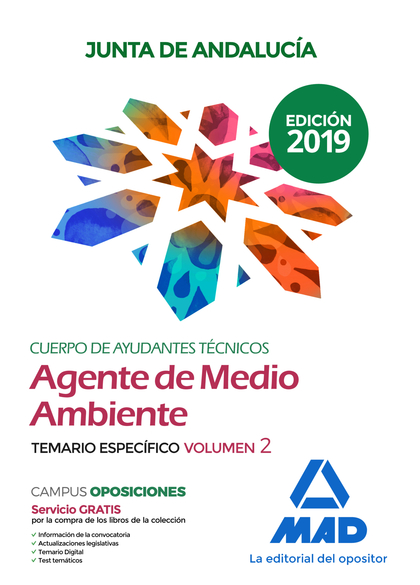 CUERPO DE AYUDANTES TÉCNICOS ESPECIALIDAD AGENTES DE MEDIO AMBIENTE DE LA JUNTA