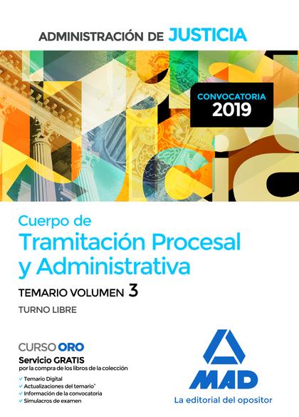 CUERPO DE TRAMITACIÓN PROCESAL Y ADMINISTRATIVA  DE LA ADMINISTRACIÓN DE JUSTICI.