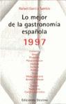 MEJOR GASTRONOMIA ESPAÑOLA 1997