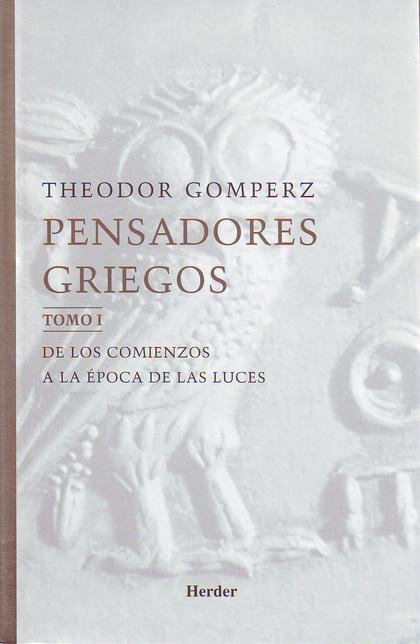 PENSADORES GRIEGOS (3 VOLS.)