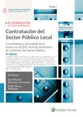 CONTRATACIÓN DEL SECTOR PÚBLICO LOCAL (2 TOMOS).