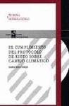 CUMPLIMIENTO DEL PROTOCOLO DE KIOTO SOBRE CAMBIO CLIMÁTICO