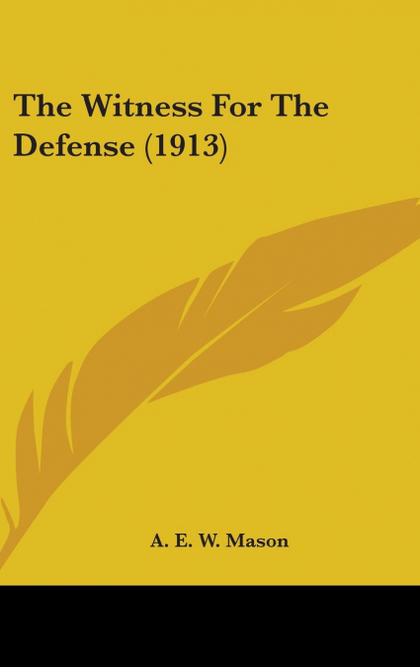 THE WITNESS FOR THE DEFENSE (1913)