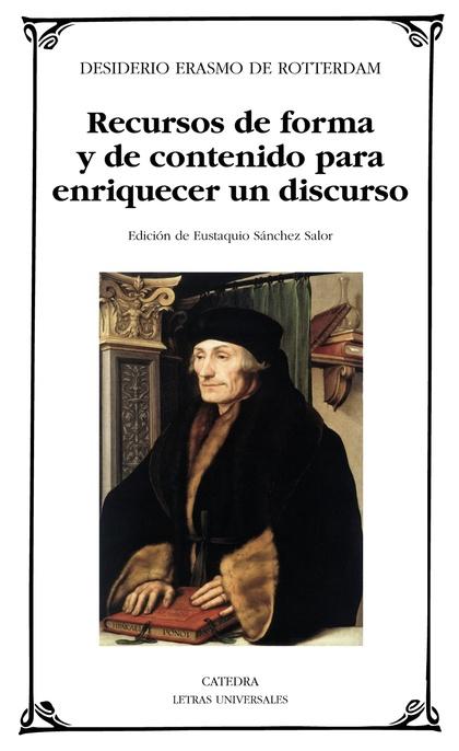 RECURSOS DE FORMA Y DE CONTENIDO PARA ENRIQUECER UN DISCURSO