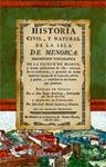 HISTORIA CIVIL, Y NATURAL DE LA ISLA DE MENORCA
