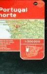 MAPA PORTUGAL NORTE