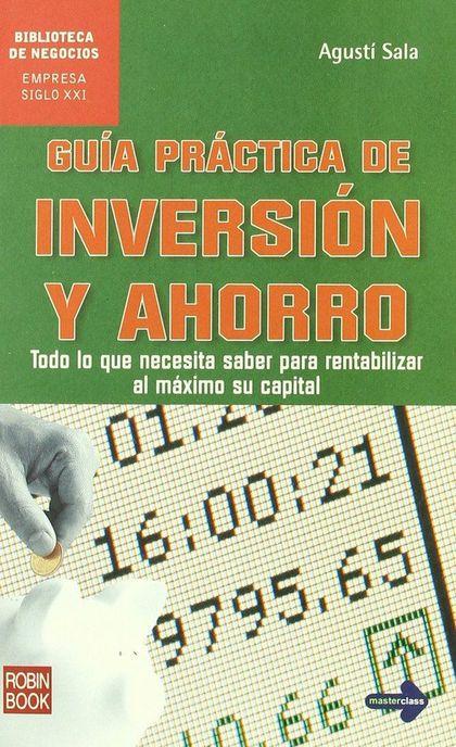 GUÍA PRÁCTICA DE INVERSIÓN Y AHORRO