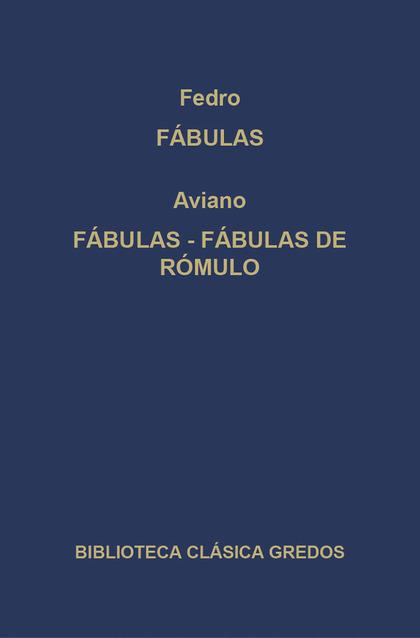 FÁBULAS  FÁBULAS DE RÓMULO