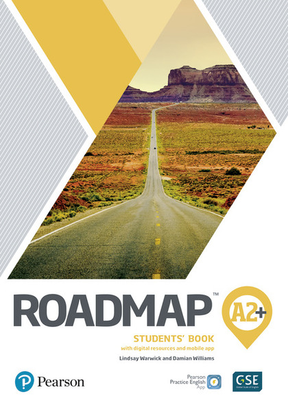 ROADMAP A2+ STUDENTS BOOK WITH DIGITAL RESOURCES & APP
