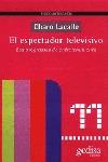 EL ESPECTADOR TELEVISIVO: LOS PROGRAMAS DE ENTRETENIMIENTO