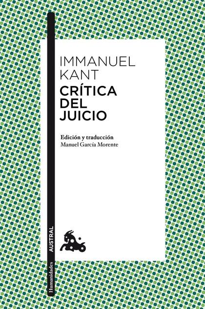 CRÍTICA DEL JUICIO.