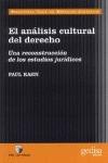 EL ANÁLISIS CULTURAL DEL DERECHO: UNA RECONSTRUCCIÓN DE LOS ESTUDIOS J