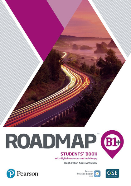ROADMAP B1+ STUDENTS BOOK WITH DIGITAL RESOURCES & APP