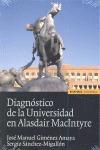 DIAGNÓSTICO DE LA UNIVERSIDAD EN ALASDAIR MACINTYRE