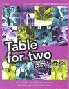 TABLE FOR TWO INGLES PARA RESTAURACION