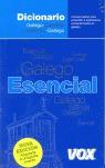 Diccionario Esencial Galego-Castelán / Castellano-Gallego