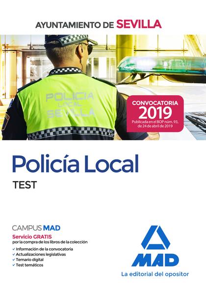 POLICÍA LOCAL DEL AYUNTAMIENTO DE SEVILLA. TEST..