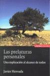 LAS PRELATURAS PERSONALES : UNA EXPLICACIÓN AL ALCANCE DE TODOS