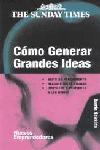 CÓMO GENERAR GRANDES IDEAS