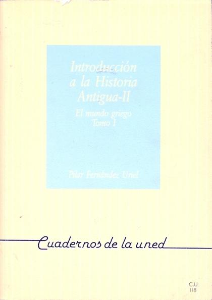 INTRODUCCIÓN A LA HISTORIA ANTIGUA II