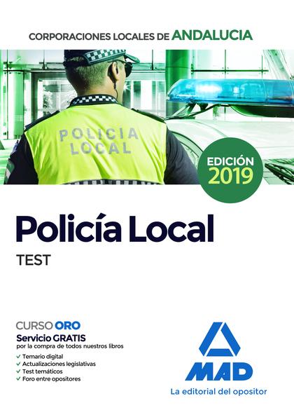POLICÍA LOCAL DE ANDALUCÍA. TEST.