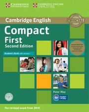 COMPACT FIRST STUDENTS PACK (STUDENTS BOOK WITH ANSWERS / WORKBOOK WITH ANSWERS