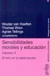 SENSIBILIDADES MORALES Y EDUCACIÓN