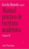 MANUAL PRÁCTICO DE ESCRITURA ACADÉMICA III
