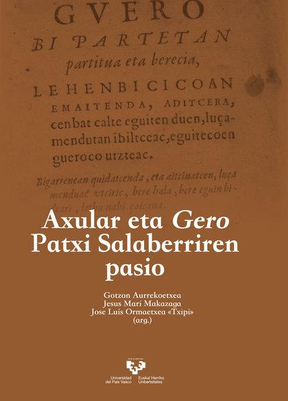 AXULAR ETA GERO PATXI SALABERRIREN PASIO