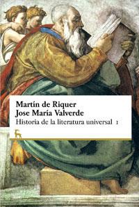 HISTORIA DE LA LITERATURA UNIVERSAL.VOL1.
