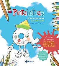 PINTALETRAS MINÚSCULAS DE LA A A LA Z.