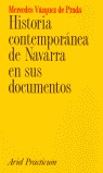 HISTORIA CONTEMPORÁNEA DE NAVARRA EN SUS DOCUMENTOS